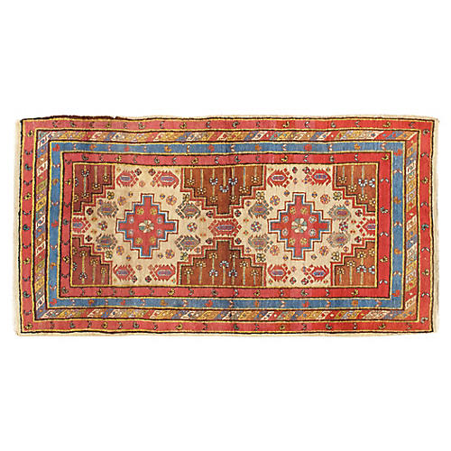 NW Persian Hand Woven Rug 3' x 5'10