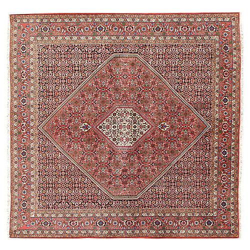 Square Bidjar Hand Woven Rug 6'10 x 6'10