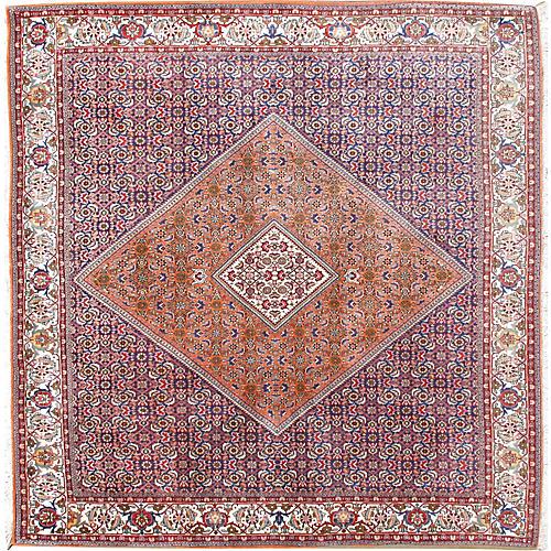 Square Bidjar Hand Woven Rug 6'6 x 6'9