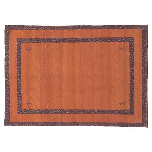 Gabbeh Hand Woven Rug 4'8 x 6'5