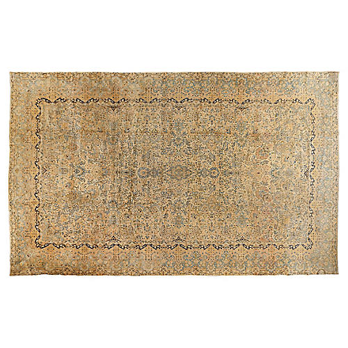 "Kerman Carpet, 11'6"" x 19'11"""