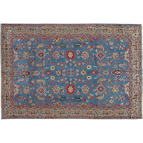 Bibikabad Hand Woven Rug 7'1 x 10'9