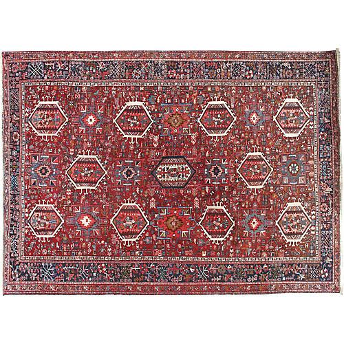 Karadja Hand Woven Rug 8 x 11'2