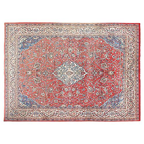 Persian Sarouk Rug, 8' x 11'