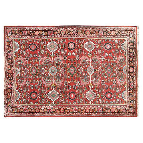 """Persian Mahal Rug, 7'6"""" x 10'9"""""""