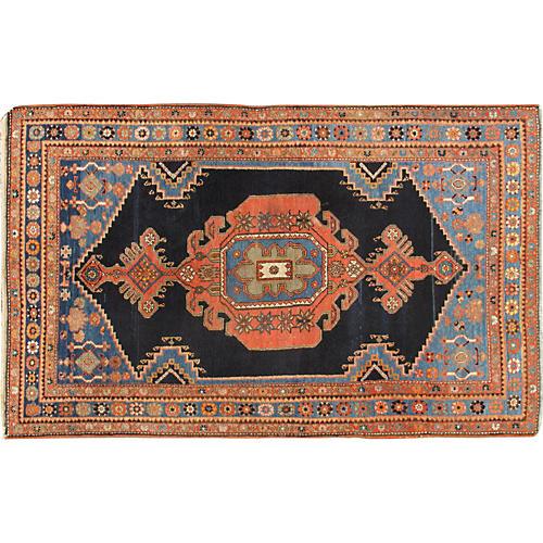 "Persian Malayer Rug, 4'5"" x 7'1"""