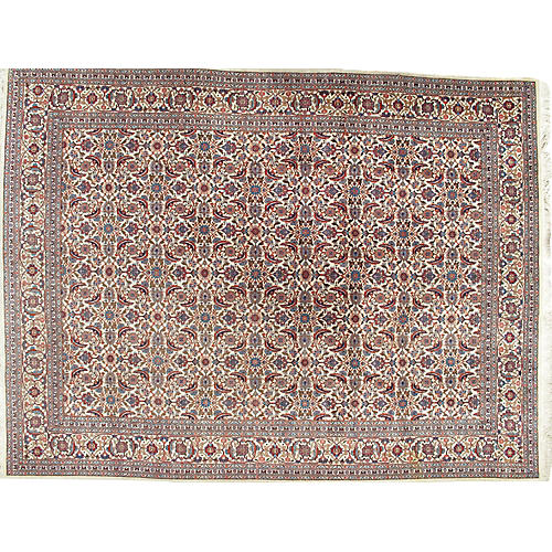 Mahal Hand Woven Rug, 9'8 x 12'7
