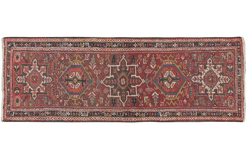 Persian Heriz Runner, 2'1