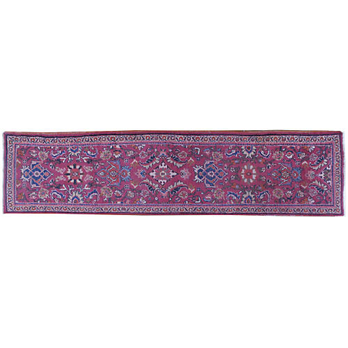 "Persian Mahal Runner, 2'6"" x 11'5"""