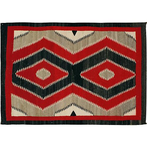 Navajo Rug, 3'4 x 4'10