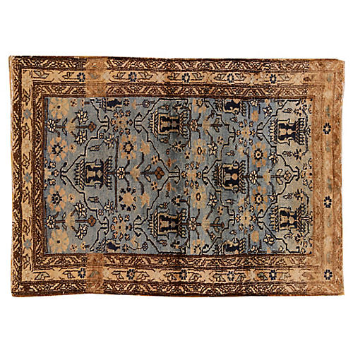 "Antique Malayer Rug, 2'9"" x 3'11"""