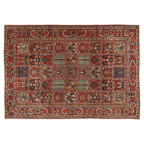 Persian Baktiari Rug 7' x 10'1
