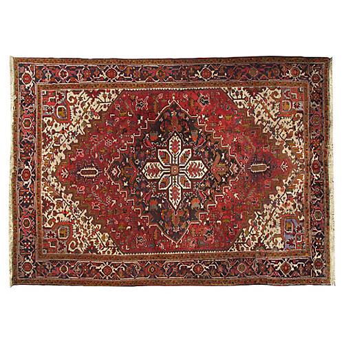 Persian Heriz Rug 7'3 x 10'4