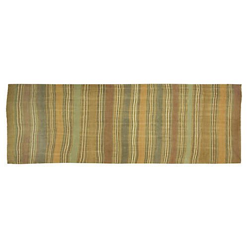 "Turkish Kilim, 4'7"" x 15'"