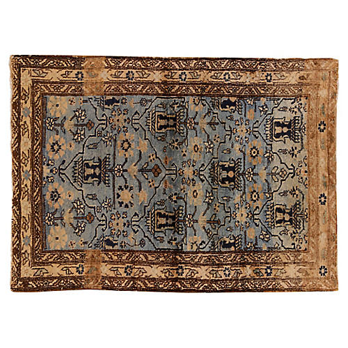 "Antique Malayer Rug, 2'9"" x 3'11"