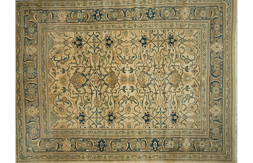 Persian Sarouk Carpet, 9'3