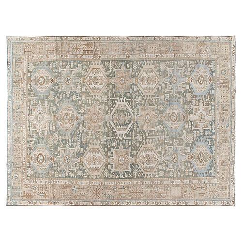 Persian Heriz Rug, 8'5 x 11'5