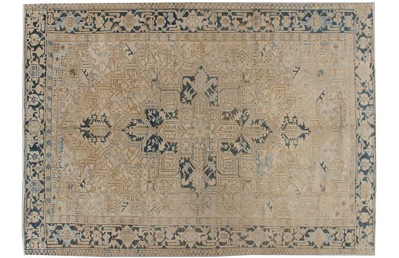 Persian Heriz Rug 7'2 x 10'1