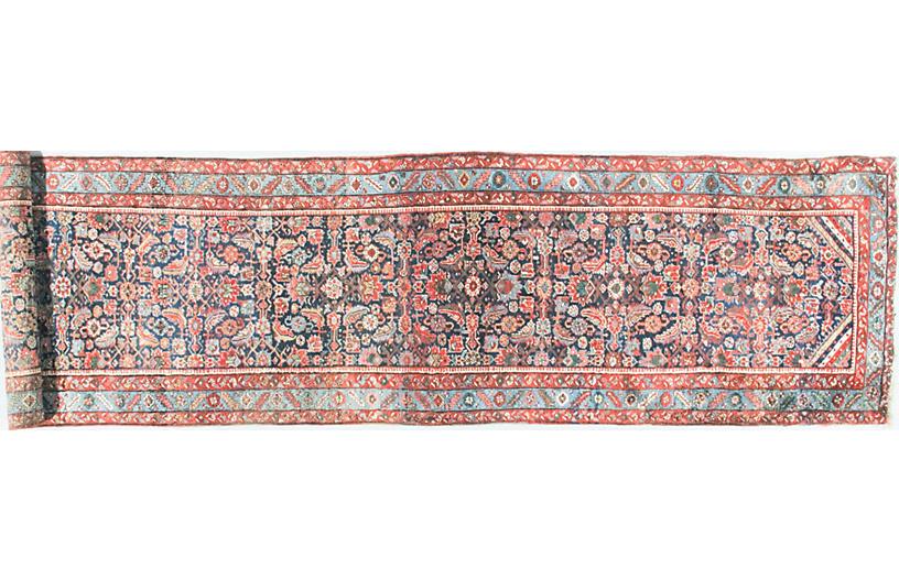 Persian Long Heriz Runner, 3'9