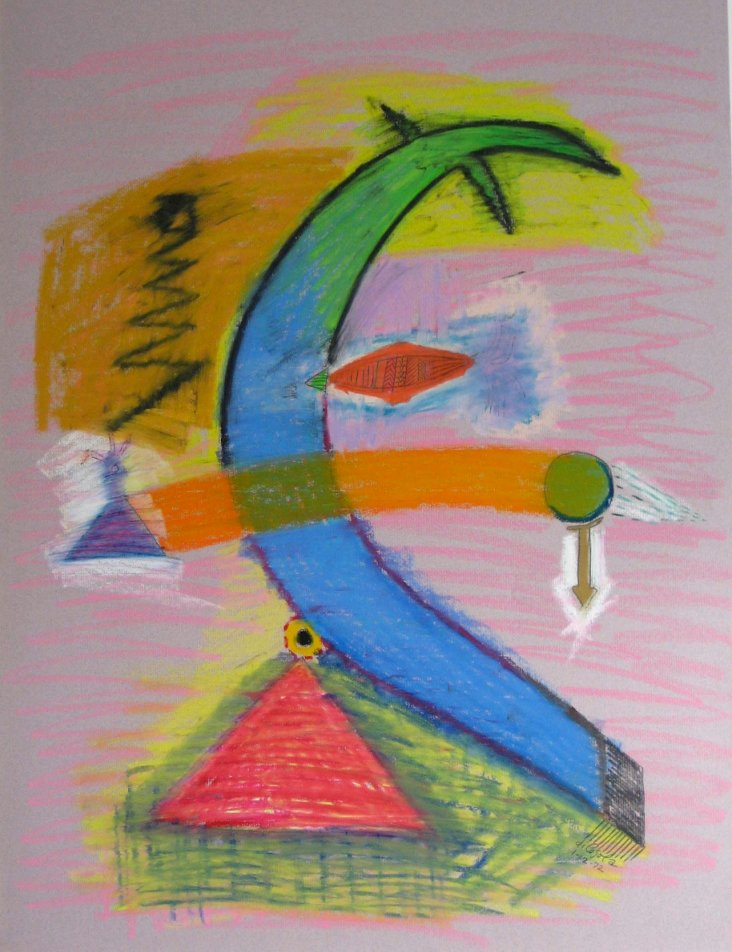 Surreal Abstract by di Cosola, 1972