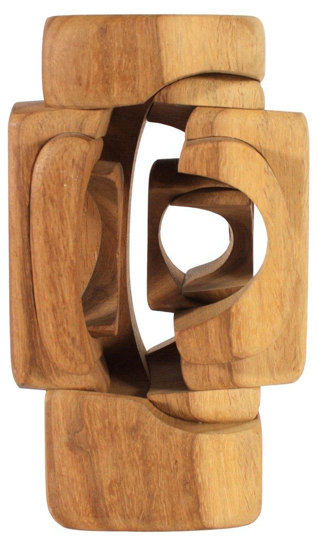Interlocked Wood Carving