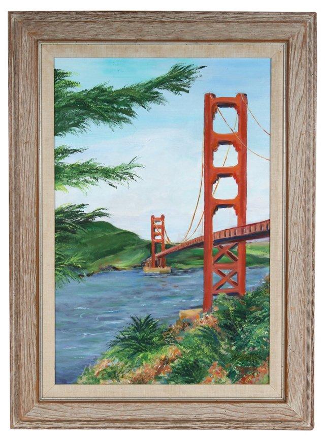 Golden Gate Bridge by Helen Brooks