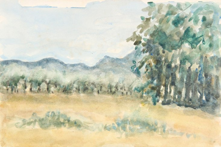 English Landscape by T. Richmond