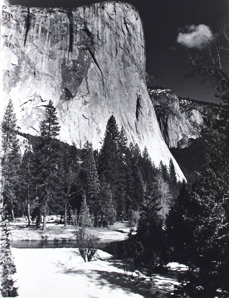 1950s-'60s Winter at Yosemite