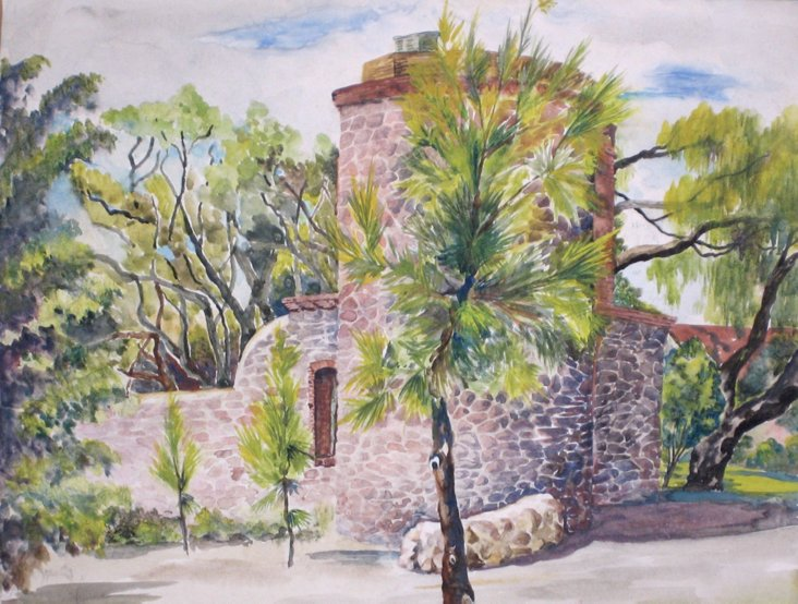 South of France Medieval Tower