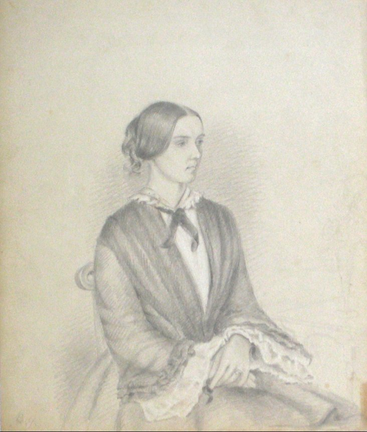 1800s Portrait of an English Woman