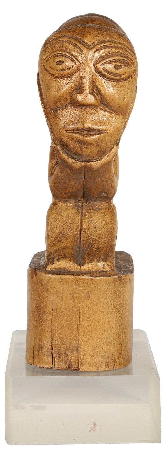 Midcentury African Marriage Sculpture