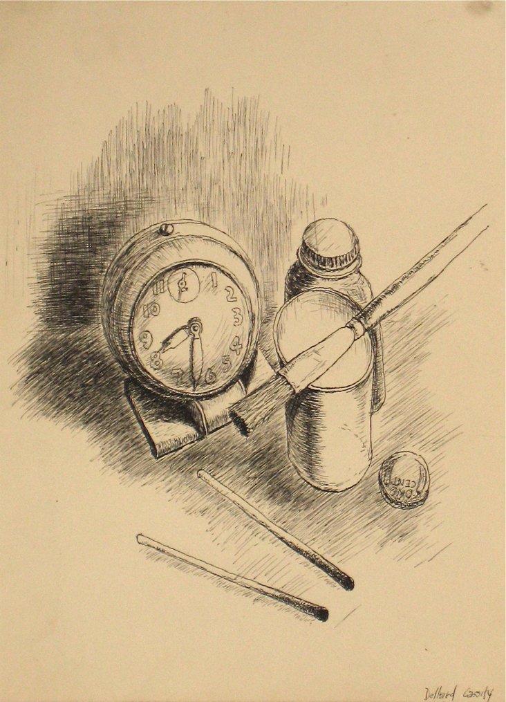 1940s Studio Objects by Dellard Cassity