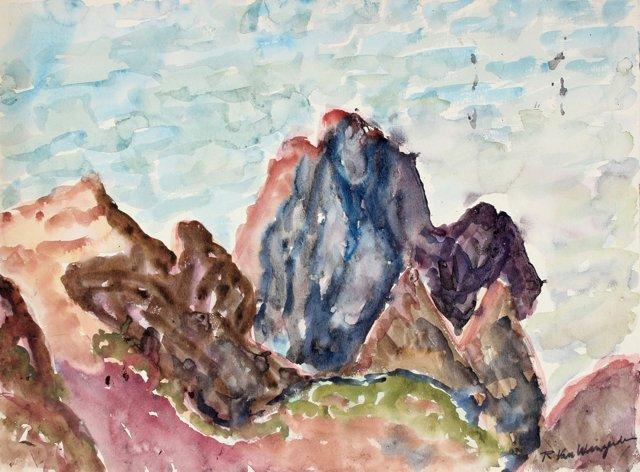 Cliffs by the Sea, Van Wingerden