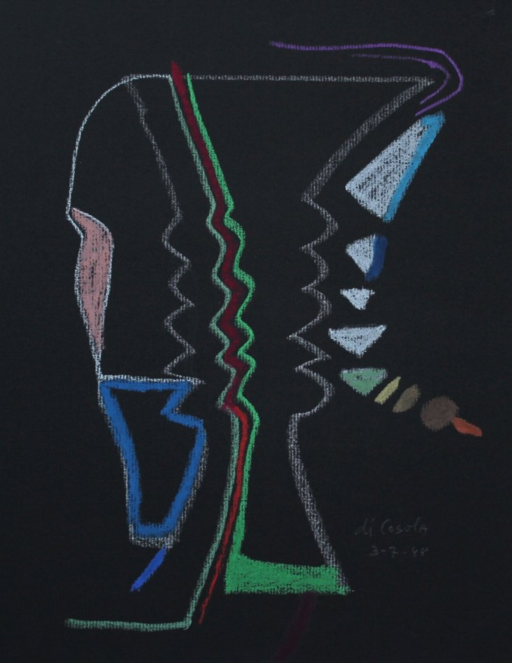 Abstract Forms by M. di Cosola, 1988