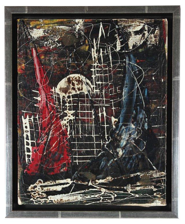 Italian Abstract by Salvatore Ferranti