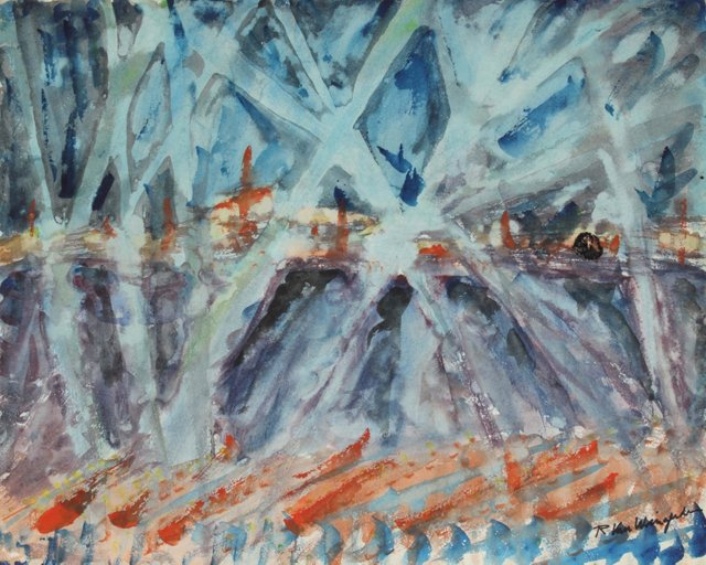 Landscape Abstract, Van Wingerden