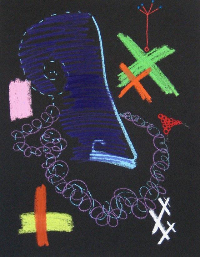 Surrealist Abstract, 1972
