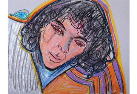 Michael di Cosola Expressionist Portrait