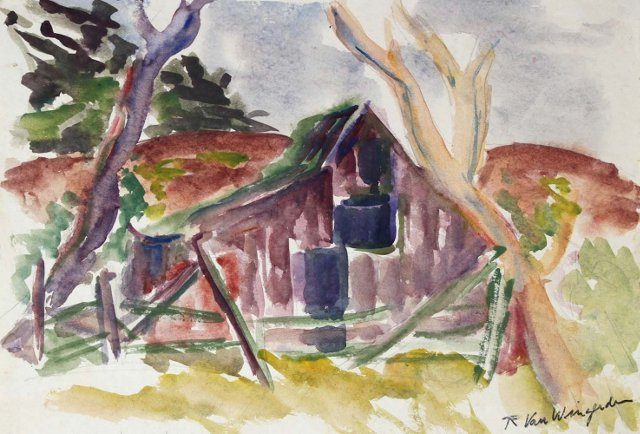 California Barn by Van Wingerden