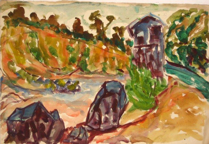 Midcentury Landscape