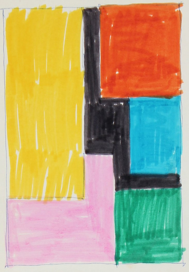 Color Block Abstract Study