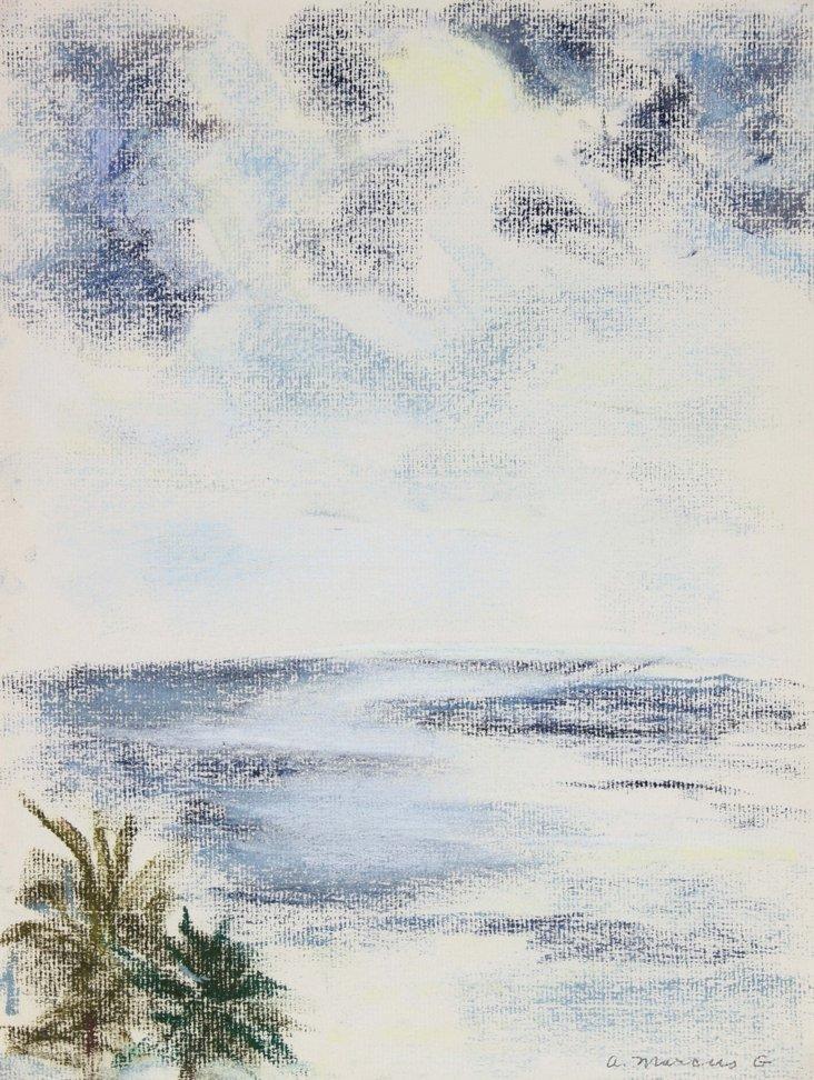 San Juan Seascape by Anne Granick, 1967