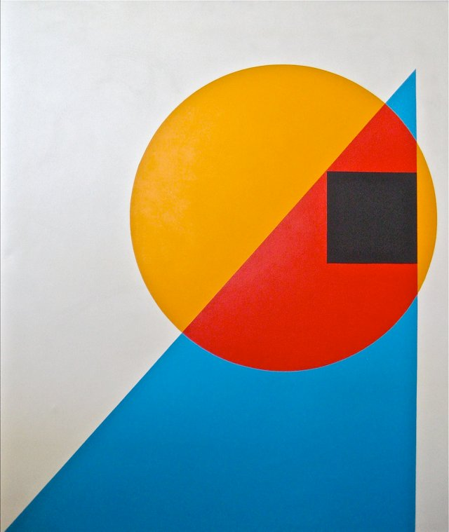 Geometric Abstract by Cassity, 1980