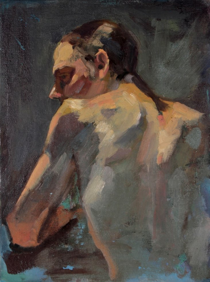 Expressionist Male Figure