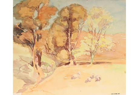 California Trees by Sadie V. P. Hall
