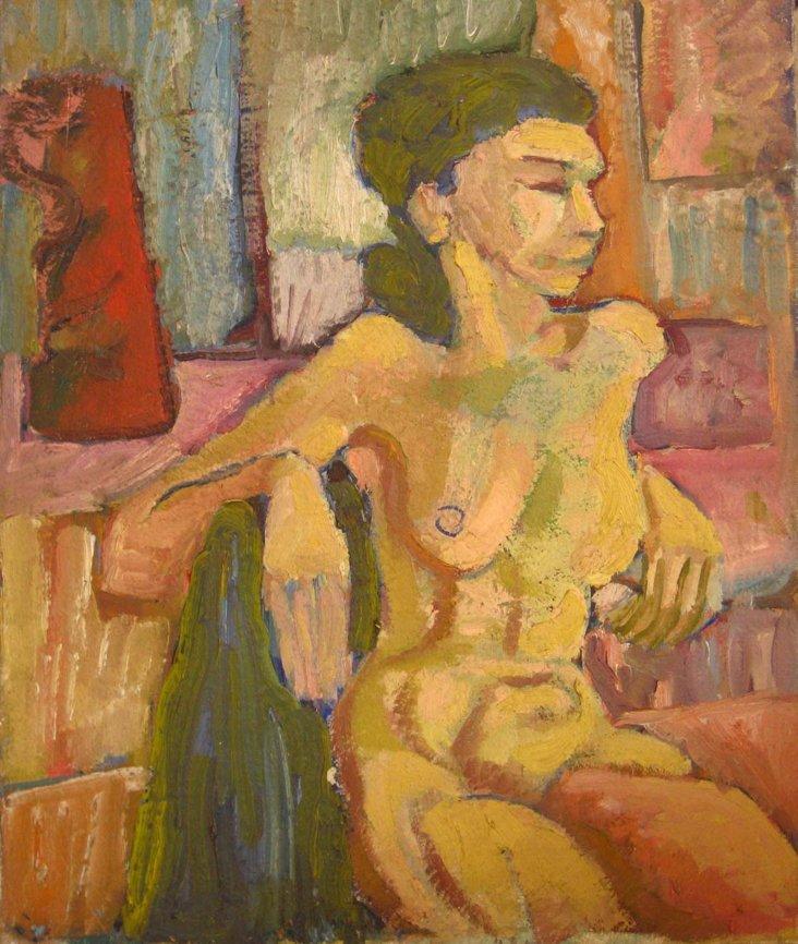 Female Nude by Van Wingerden