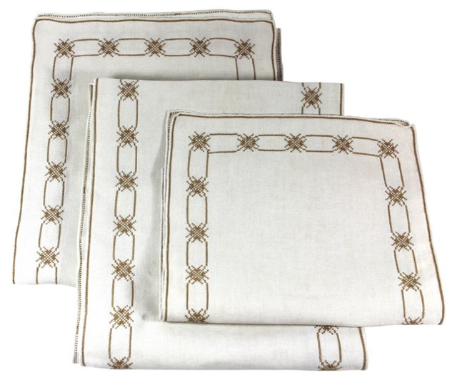 Table Runners, Set of 3