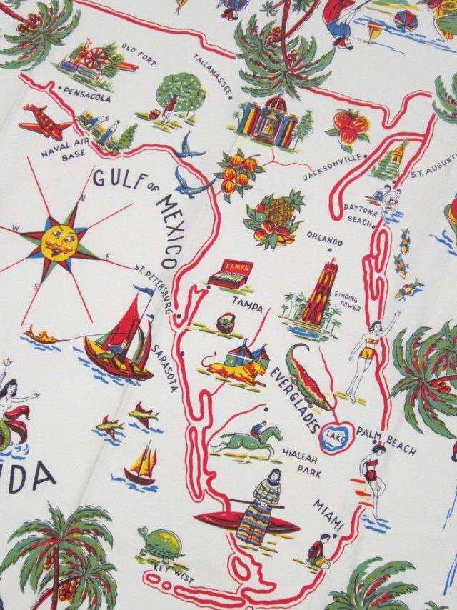Florida Pictorial Tablecloth
