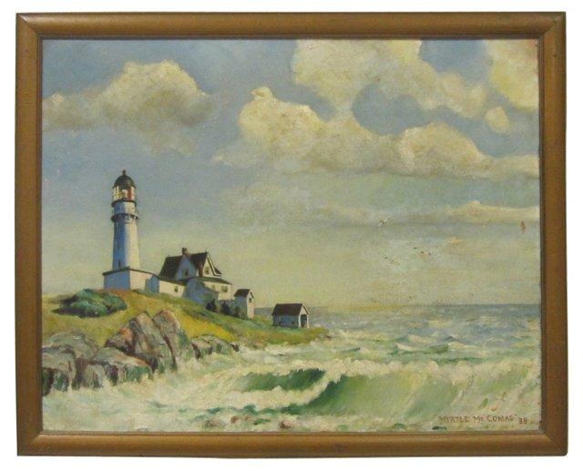 Lighthouse on Rocky Island