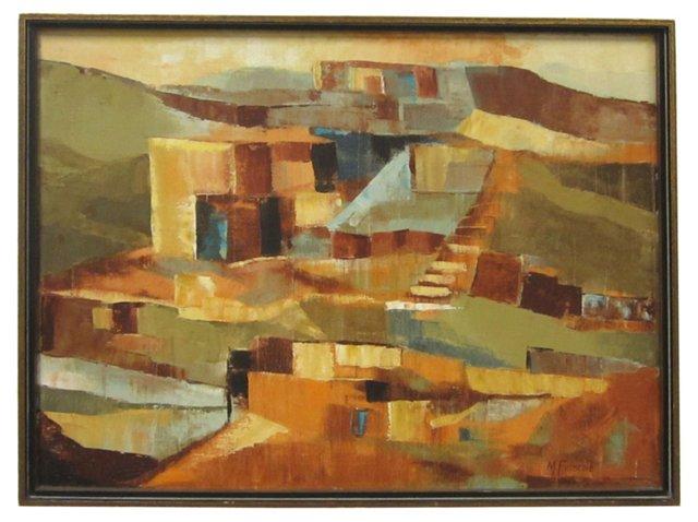 Desert Abstract by M. Frische